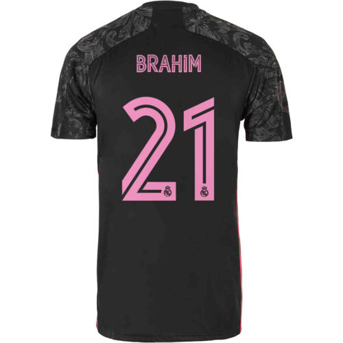 2020/21 adidas Brahim Diaz Real Madrid 3rd Jersey