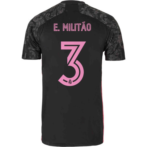 2020/21 adidas Eder Militao Real Madrid 3rd Jersey