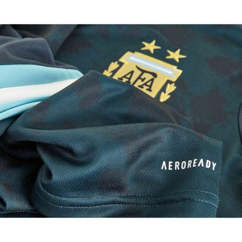 2020 Kids adidas Lionel Messi Argentina Away Jersey