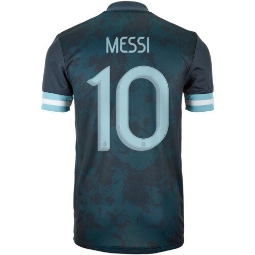 2020 adidas Lionel Messi Argentina Away Jersey