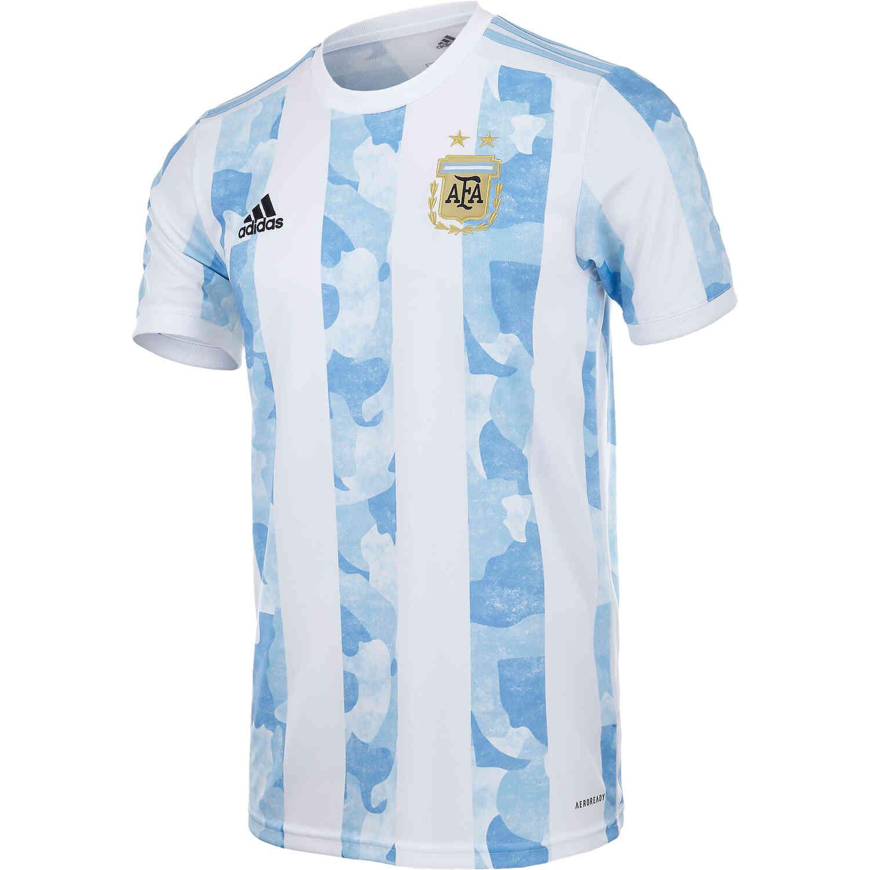 Tendencia texto cúbico  2020 adidas Argentina Home Jersey - SoccerPro