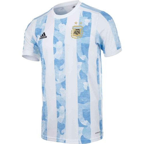2020 Kids adidas Argentina Home Jersey