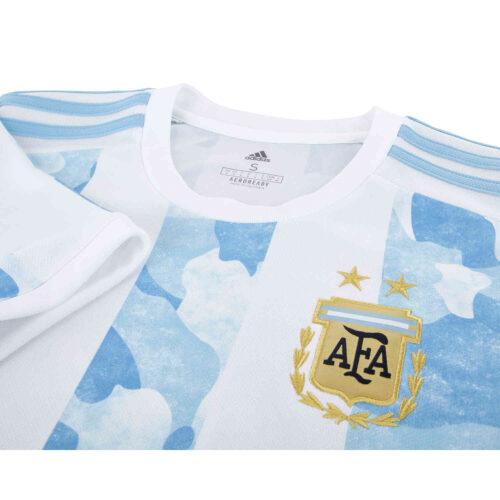 2021 Kids adidas Argentina Home Jersey
