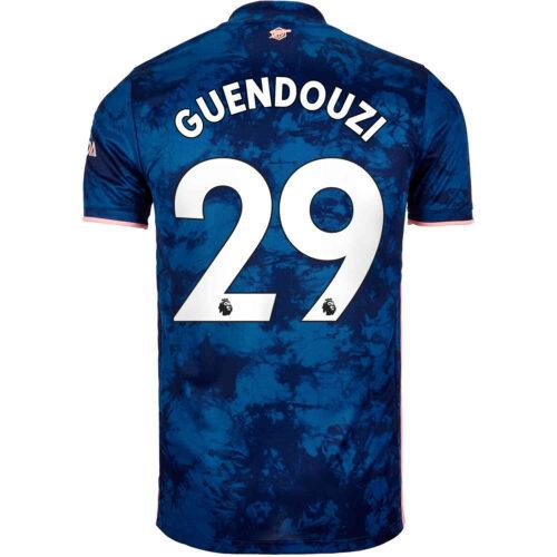 2020/21 Kids adidas Matteo Guendouzi Arsenal 3rd Jersey