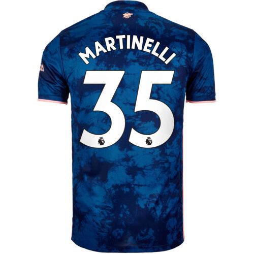 2020/21 Kids adidas Gabriel Martinelli Arsenal 3rd Jersey