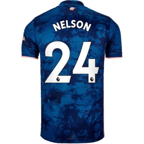 2020/21 Kids adidas Reiss Nelson Arsenal 3rd Jersey