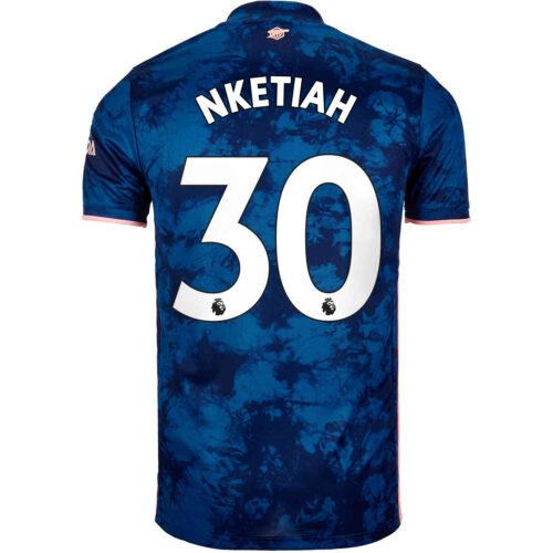 2020/21 Kids adidas Eddie Nketiah Arsenal 3rd Jersey