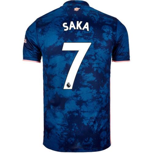 2020/21 Kids adidas Bukayo Saka Arsenal 3rd Jersey