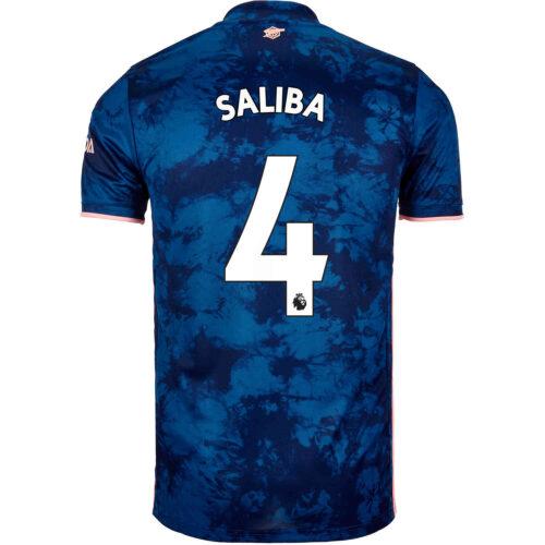 2020/21 Kids adidas Willian Saliba Arsenal 3rd Jersey