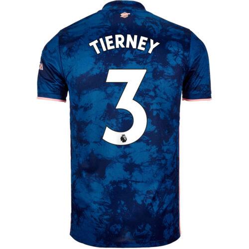 2020/21 Kids adidas Kieran Tierney Arsenal 3rd Jersey