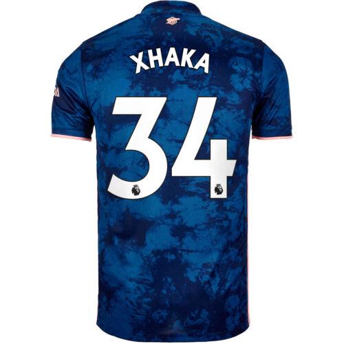 2020/21 Kids adidas Granit Xhaka Arsenal 3rd Jersey
