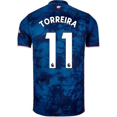 2020/21 adidas Lucas Torreira Arsenal 3rd Jersey