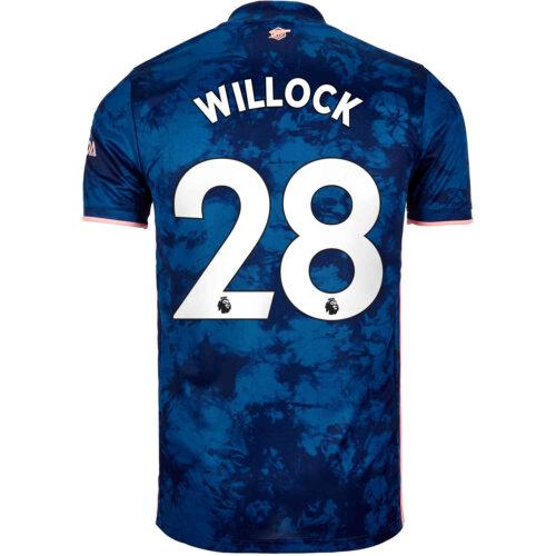 2020/21 adidas Joe Willock Arsenal 3rd Jersey
