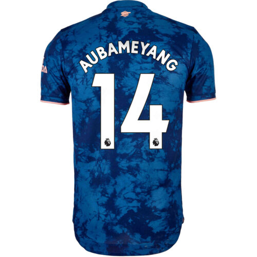 2020/21 adidas Pierre-Emerick Aubameyang Arsenal 3rd Authentic Jersey