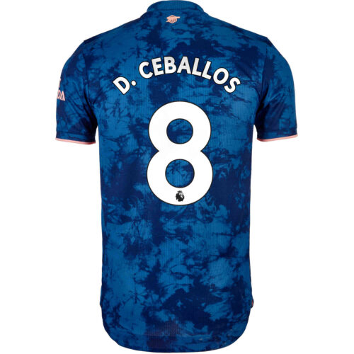 2020/21 adidas Dani Ceballos Arsenal 3rd Authentic Jersey
