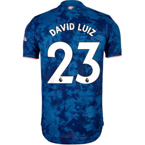 2020/21 adidas David Luiz Arsenal 3rd Authentic Jersey