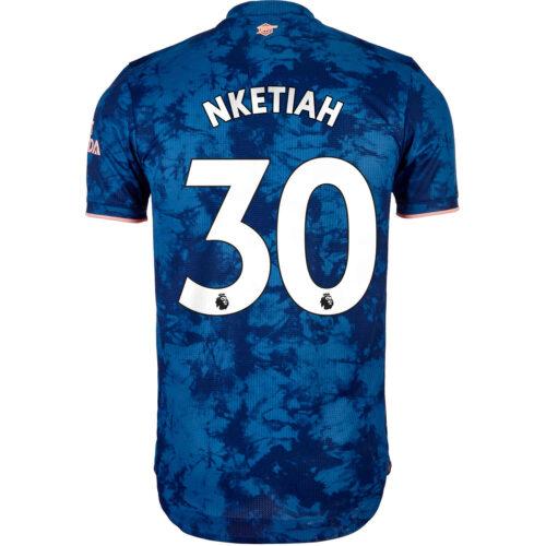 2020/21 adidas Eddie Nketiah Arsenal 3rd Authentic Jersey