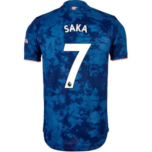 2020/21 adidas Bukayo Saka Arsenal 3rd Authentic Jersey