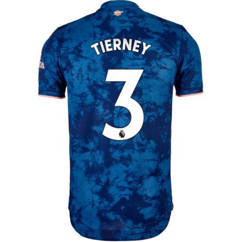 2020/21 adidas Kieran Tierney Arsenal 3rd Authentic Jersey