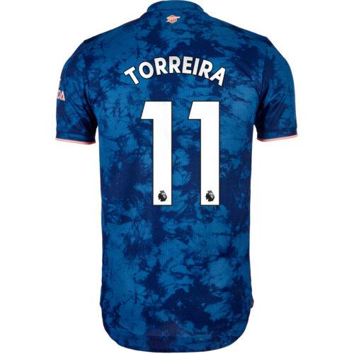 2020/21 adidas Lucas Torreira Arsenal 3rd Authentic Jersey