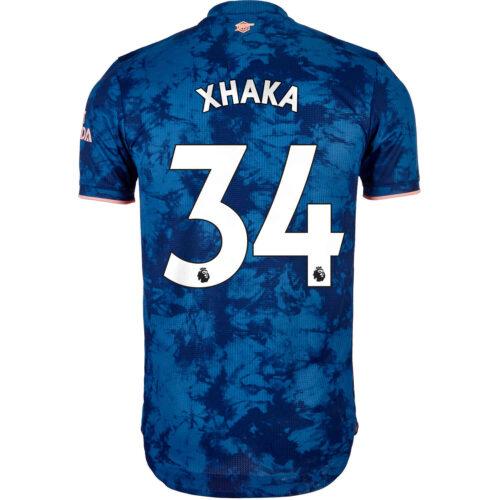 2020/21 adidas Granit Xhaka Arsenal 3rd Authentic Jersey