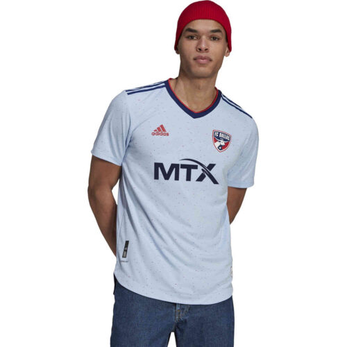 2021 adidas FC Dallas Away Authentic Jersey