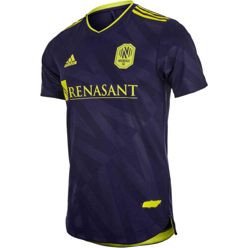 2021 adidas Nashville SC Away Authentic Jersey