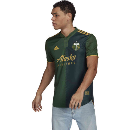 2021 adidas Portland Timbers Home Authentic Jersey