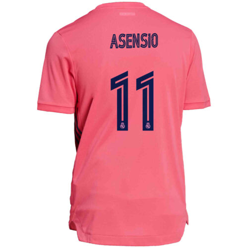 2020/21 adidas Marco Asensio Real Madrid Away Authentic Jersey