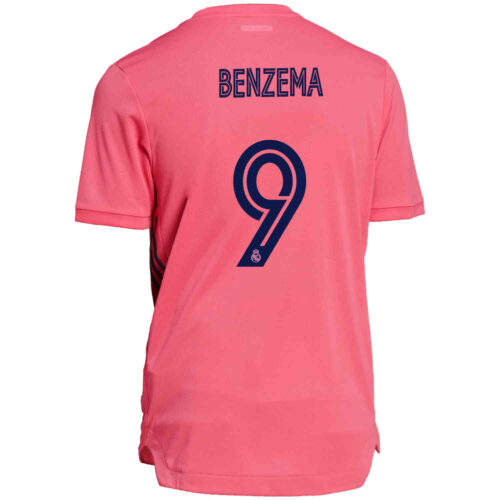 2020/21 adidas Karim Benzema Real Madrid Away Authentic Jersey