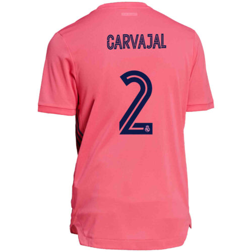 2020/21 adidas Dani Carvajal Real Madrid Away Authentic Jersey