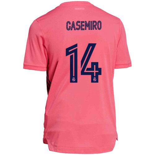 2020/21 adidas Casemiro Real Madrid Away Authentic Jersey