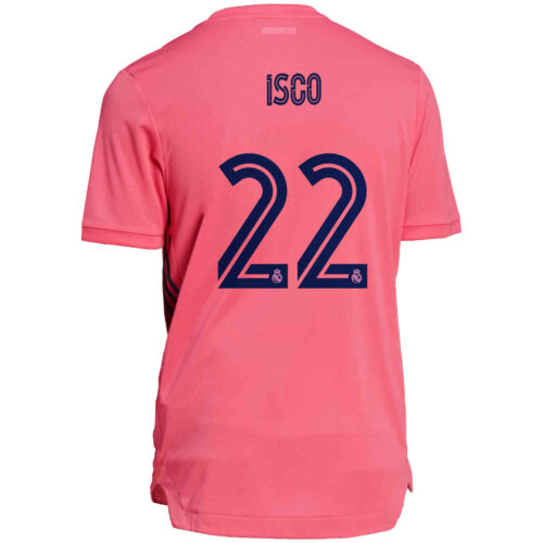 2020/21 adidas Isco Real Madrid Away Authentic Jersey