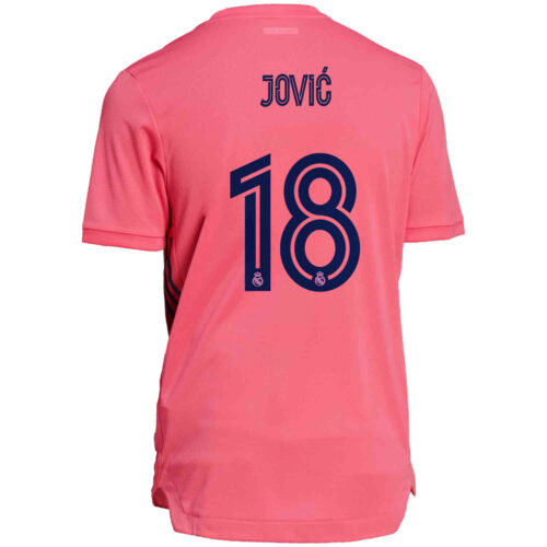 2020/21 adidas Luka Jovic Real Madrid Away Authentic Jersey