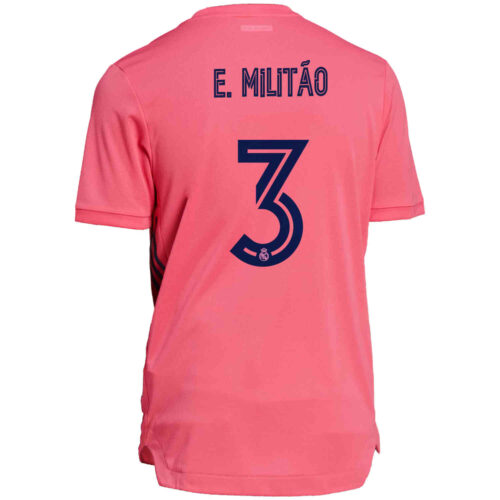 2020/21 adidas Eder Militao Real Madrid Away Authentic Jersey