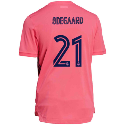 2020/21 adidas Martin Odegaard Real Madrid Away Authentic Jersey