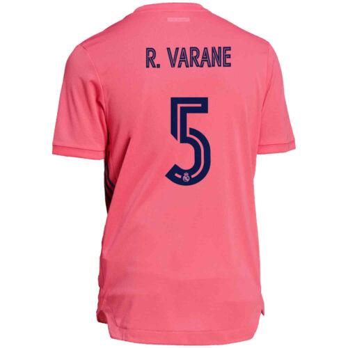 2020/21 adidas Raphael Varane Real Madrid Away Authentic Jersey