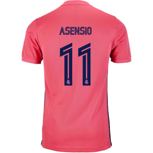 2020/21 adidas Marco Asensio Real Madrid Away Jersey