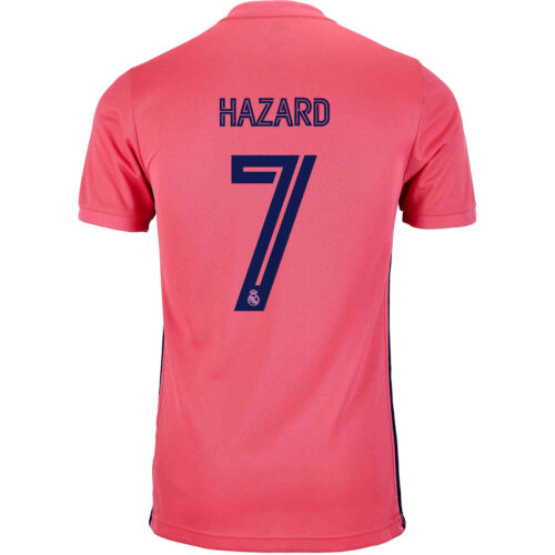 2020/21 adidas Eden Hazard Real Madrid Away Jersey