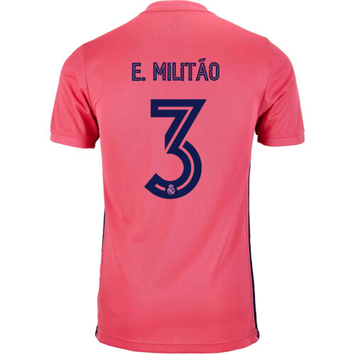 2020/21 adidas Eder Militao Real Madrid Away Jersey