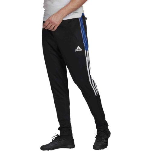 adidas Tiro21 Track Pants – Black/Royal Blue