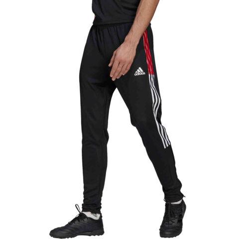 adidas Tiro21 Track Pants – Black/Power Red