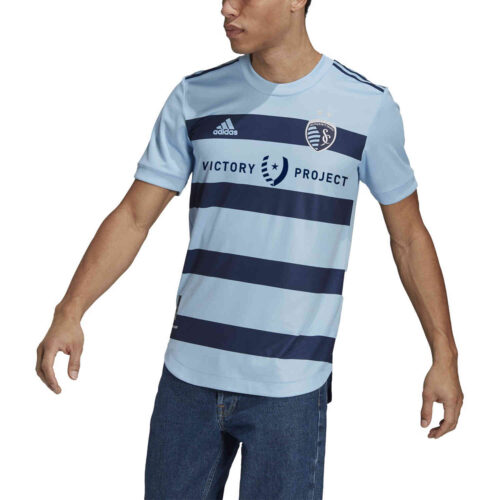 2021 adidas Sporting KC Home Authentic Jersey