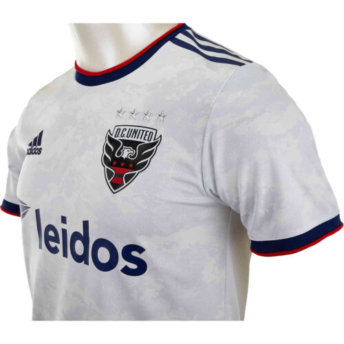 2021 adidas DC United Away Authentic Jersey