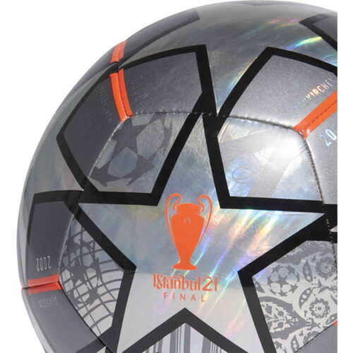 adidas Finale Istanbul 21 Foil Training Soccer Ball – 2020/21