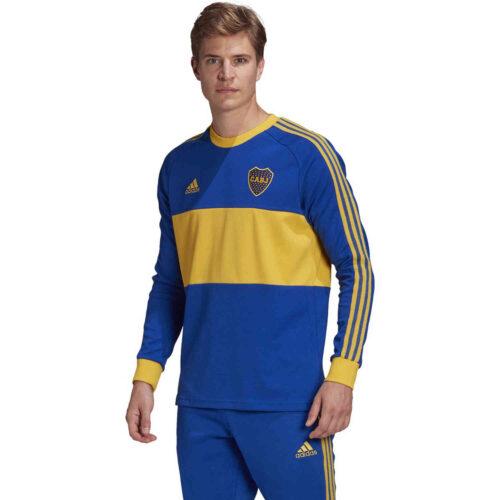 adidas Boca Juniors L/S Retro Jersey – Power Blue
