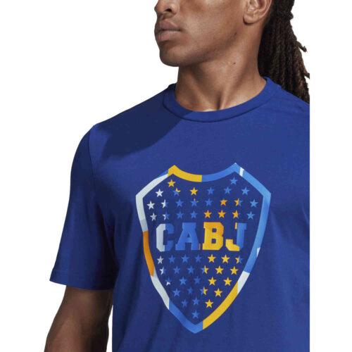 adidas Boca Juniors Tee – Mystery Ink