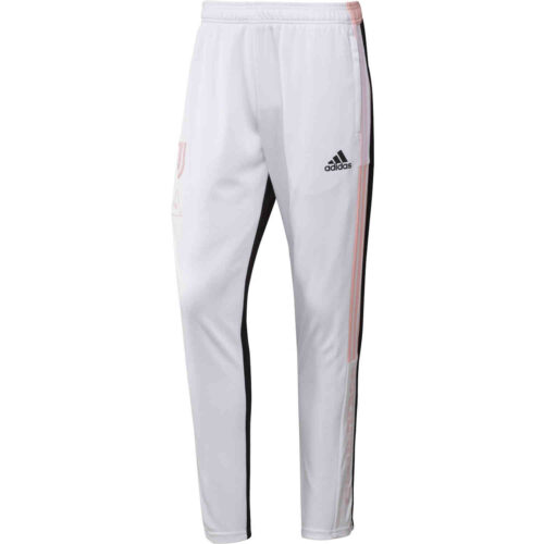 adidas Human Race Juventus Training Pants – White/Black