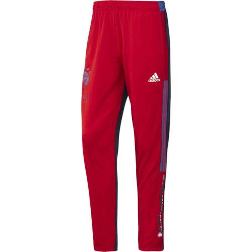 adidas Human Race Bayern Munich Training Pants – FCB True Red/Dark Blue