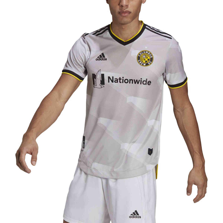 adidas Columbus Crew Away Authentic Jersey - 2021 - SoccerPro
